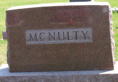 MCNULTY, FAMILY STONE - Linn County, Iowa | FAMILY STONE MCNULTY