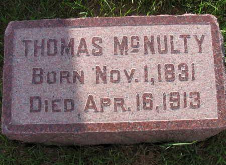 MCNULTY, THOMAS - Linn County, Iowa   THOMAS MCNULTY