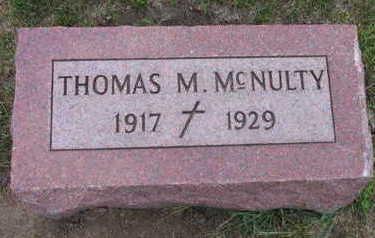 MCNULTY, THOMAS M. - Linn County, Iowa | THOMAS M. MCNULTY