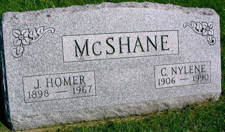 MCSHANE, J. HOMER - Linn County, Iowa   J. HOMER MCSHANE