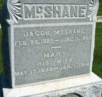 MCSHANE, MARY - Linn County, Iowa | MARY MCSHANE