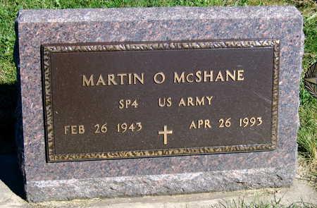 MCSHANE, MARTIN O. - Linn County, Iowa   MARTIN O. MCSHANE