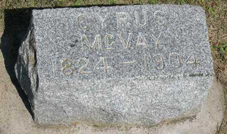 MCVAY, CYRUS - Linn County, Iowa | CYRUS MCVAY