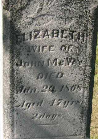 MCVAY, ELIZABETH - Linn County, Iowa | ELIZABETH MCVAY