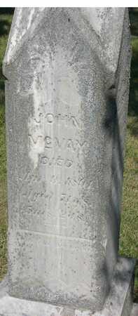 MCVAY, JOHN - Linn County, Iowa   JOHN MCVAY