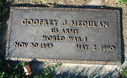 MEDULAN, GODFREY J. - Linn County, Iowa | GODFREY J. MEDULAN