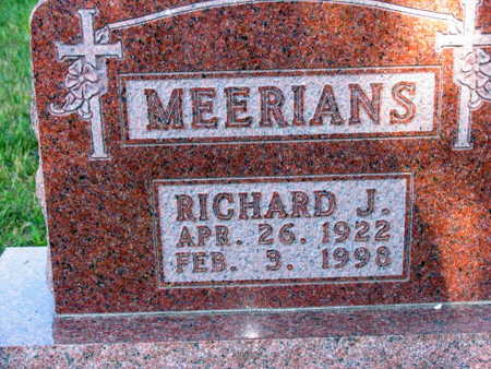 MEERIANS, RICHARD J. - Linn County, Iowa | RICHARD J. MEERIANS