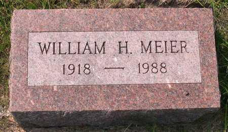 MEIER, WILLIAM H. - Linn County, Iowa | WILLIAM H. MEIER