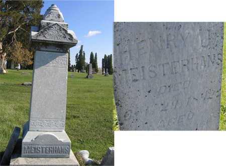 MEISTERHANS, HENRY J. - Linn County, Iowa | HENRY J. MEISTERHANS