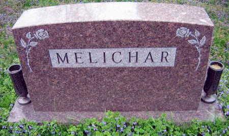 MELICHAR, FAMILY STONE - Linn County, Iowa   FAMILY STONE MELICHAR