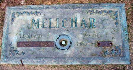 MELICHAR, AGNES - Linn County, Iowa | AGNES MELICHAR