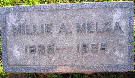 MELSA, MILLIE A. - Linn County, Iowa | MILLIE A. MELSA