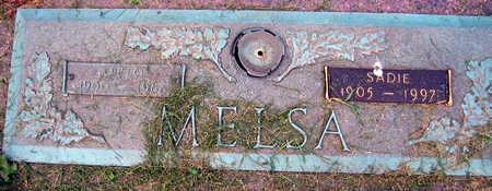 MELSA, SADIE - Linn County, Iowa   SADIE MELSA
