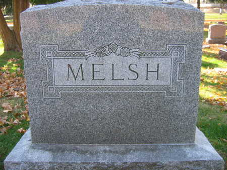 MELSH, FAMILY STONE - Linn County, Iowa | FAMILY STONE MELSH