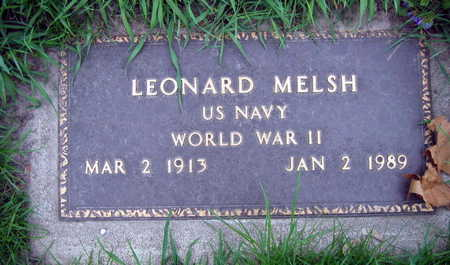 MELSH, LEONARD - Linn County, Iowa | LEONARD MELSH