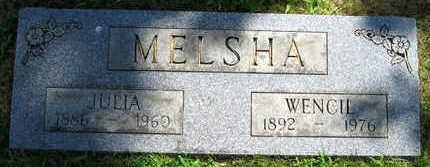 MELSHA, WENCIL - Linn County, Iowa | WENCIL MELSHA