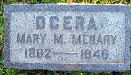 STRITESKY MENARY, MARY M. - Linn County, Iowa   MARY M. STRITESKY MENARY