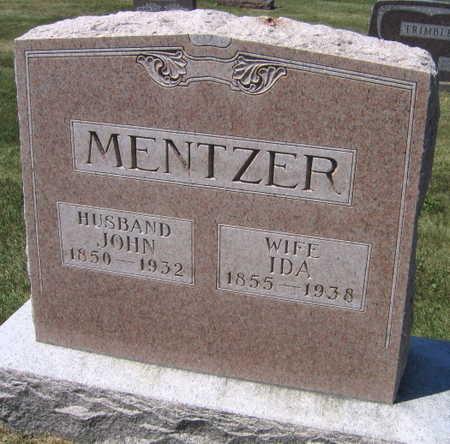 MENTZER, IDA - Linn County, Iowa   IDA MENTZER