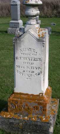 MENTZER, SUSIE - Linn County, Iowa | SUSIE MENTZER