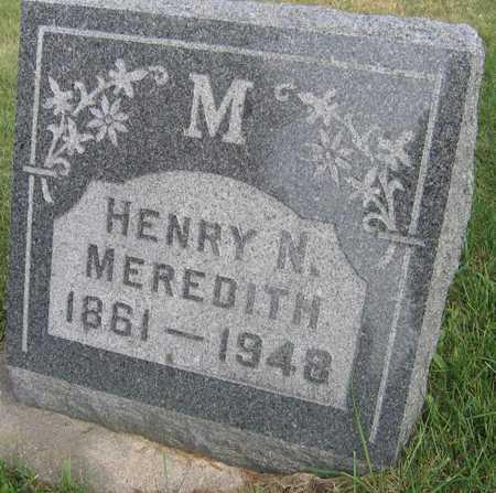 MEREDITH, HENRY N. - Linn County, Iowa | HENRY N. MEREDITH