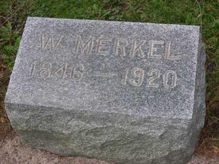 MERKEL, W. - Linn County, Iowa | W. MERKEL