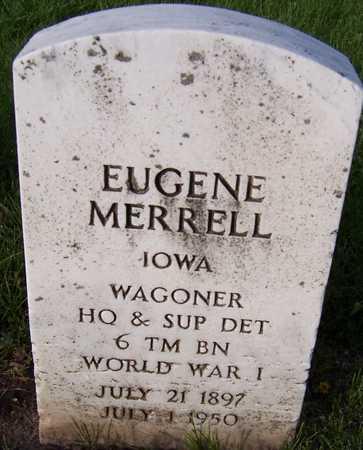 MERRELL, EUGENE - Linn County, Iowa   EUGENE MERRELL