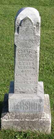 MERSHON, CHESTER EARL - Linn County, Iowa   CHESTER EARL MERSHON