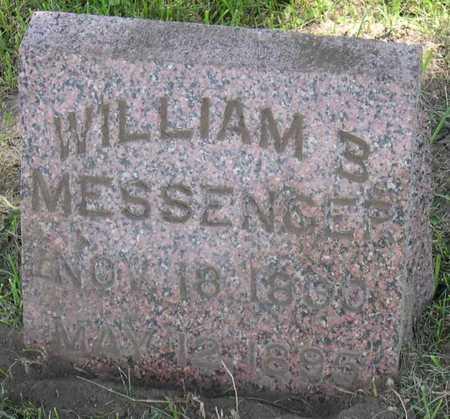 MESSENGER, WILLIAM B. - Linn County, Iowa | WILLIAM B. MESSENGER