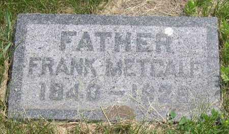METCALF, FRANK - Linn County, Iowa | FRANK METCALF