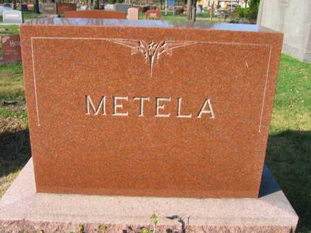METELA, FAMILY STONE - Linn County, Iowa   FAMILY STONE METELA