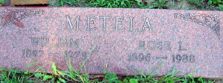 METELA, ROSE L. - Linn County, Iowa | ROSE L. METELA