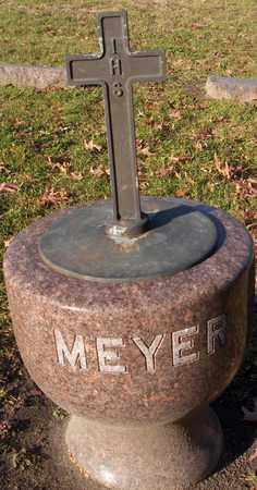 MEYER, FAMILY STONE - Linn County, Iowa   FAMILY STONE MEYER
