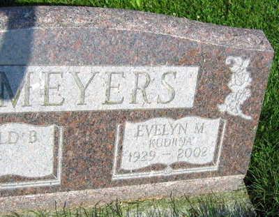 KUDRNA MEYERS, EVELYN M. - Linn County, Iowa | EVELYN M. KUDRNA MEYERS