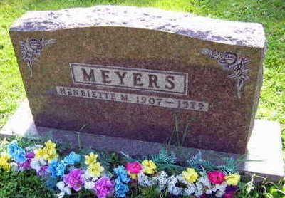 MEYERS, HENRIETTE M. - Linn County, Iowa | HENRIETTE M. MEYERS