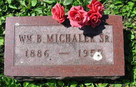 MICHALEK, WM. B. SR. - Linn County, Iowa   WM. B. SR. MICHALEK