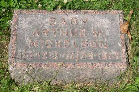 MICKELSON, BABY ARTHUR M. - Linn County, Iowa | BABY ARTHUR M. MICKELSON