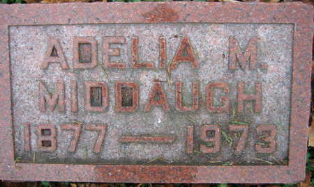 MIDDAUGH, ADELIA M. - Linn County, Iowa | ADELIA M. MIDDAUGH