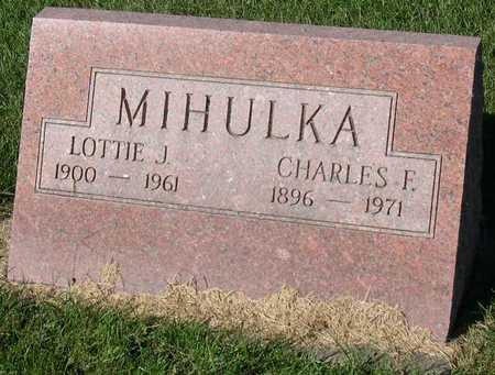 MIHULKA, CHARLES F. - Linn County, Iowa | CHARLES F. MIHULKA