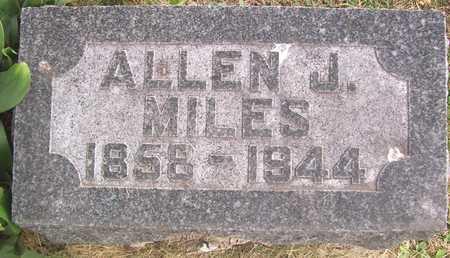 MILES, ALLEN J. - Linn County, Iowa | ALLEN J. MILES
