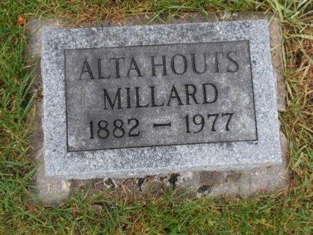 HOUTS MILLARD, ALTA   (ALTA B.) - Linn County, Iowa   ALTA   (ALTA B.) HOUTS MILLARD