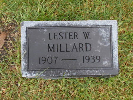 MILLARD, LESTER W - Linn County, Iowa   LESTER W MILLARD