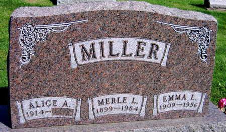 MILLER, EMMA L. - Linn County, Iowa | EMMA L. MILLER