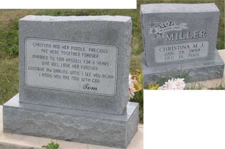 MILLER, CHRISTINA M. J. - Linn County, Iowa | CHRISTINA M. J. MILLER