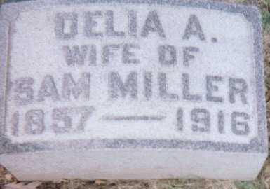 MILLER, DELIA A. - Linn County, Iowa | DELIA A. MILLER
