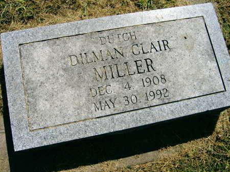 MILLER, DILMAN DUTCH CLAIR - Linn County, Iowa | DILMAN DUTCH CLAIR MILLER