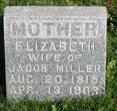 MILLER, ELIZABETH - Linn County, Iowa | ELIZABETH MILLER