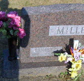 MILLER, ERNEST - Linn County, Iowa | ERNEST MILLER