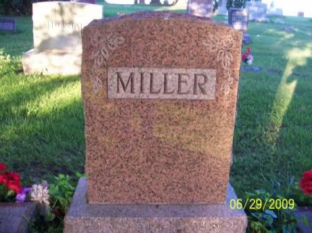 MILLER, FAMILY STONE - Linn County, Iowa | FAMILY STONE MILLER