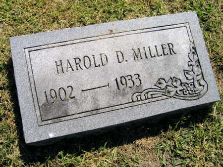 MILLER, HAROLD D. - Linn County, Iowa | HAROLD D. MILLER