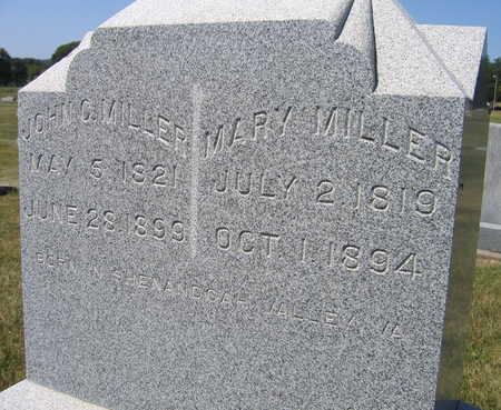 MILLER, JOHN C. - Linn County, Iowa | JOHN C. MILLER